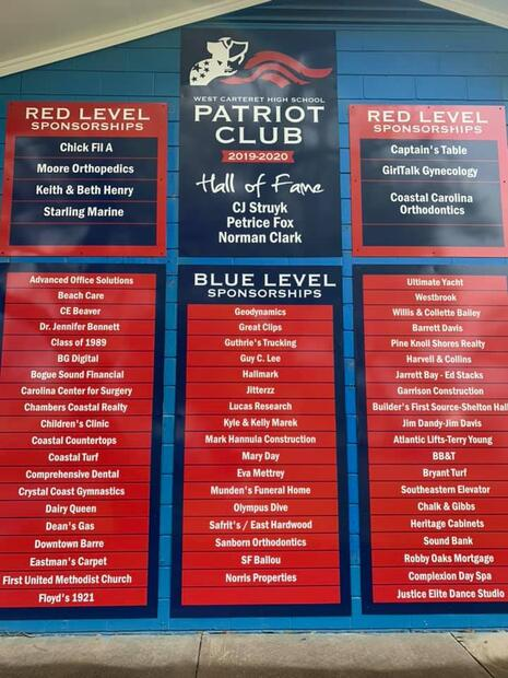 Patriot Club Boosters